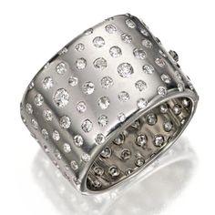 Diamond bangle | Cartier  c1930