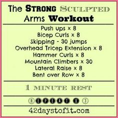 Strong Sculpted Arms Workout #xmas_present #Black_Friday #Cyber_Monday