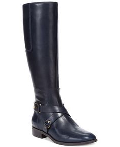 Nine West Blogger Tall Wide Calf Riding Boots