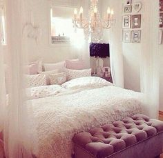 31 Best Girly Bedroom Decorating Ideas images | Room decor ...