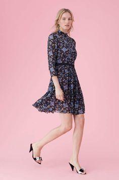 d330c5e72b99 Maje Lace skater dress | b i r t h d a y | Dresses, Skater Dress, Lace
