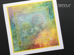 Barbara Gray's Blog. One Day at a Time. Barbara Gray Blog, Parchment Cards, Clarity, Stamps, Birthdays, Paper Crafts, Plates, Board, Floral