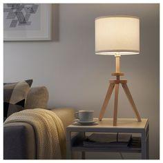 LAUTERS Table lamp - ash, white - IKEA