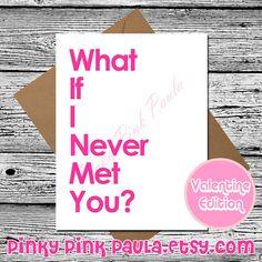 Grumpy Cat Card Funny Valentine Card Valentine by PinkyPinkPaula