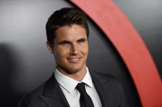 Robbie Amell attends the premiere of Fox's 'The X-Files'