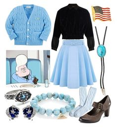 """""""Gideon Gleeful from Disney's Gravity Falls"""" by vicipokemon ❤ liked on Polyvore featuring Sydney Evan, Kolor, VSA, Chanel, M&F Western, Brooks Brothers, Cufflinks, Inc., WithChic and ECCO"""