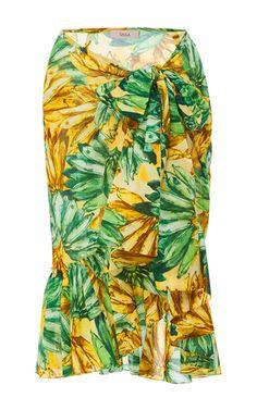 Carmelita Wrap Skirt by SISSA for Preorder on Moda Operandi