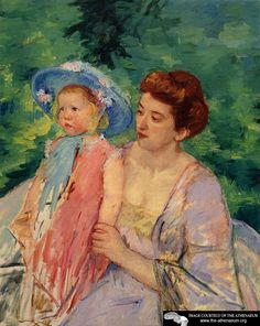 En Bateau Le Bain Painting by Mary Cassatt Reproduction Edgar Degas, National Gallery Of Art, Art Gallery, Mary Cassatt Art, Mother And Child Painting, Impressionist Artists, Renoir, Vintage Artwork, American Artists