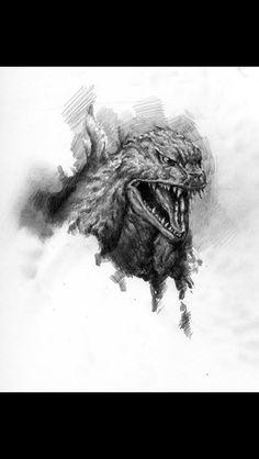Definitely a Godzilla tattoo xD