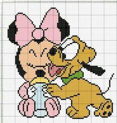 Minnie bebe pluto