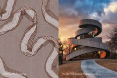Ribbons Wallcovering   Hiroshi Nakamura's Ribbon Chapel #InnovationsInspirations