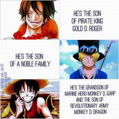 ASL Brothers // One Piece. And they are brothers :)