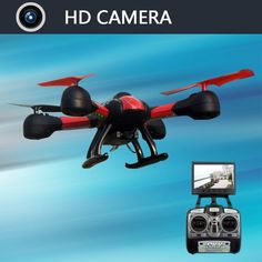 Helicopter Quadrocopter with Drone Camera HD 5.8G 4CH 0.3MP HD