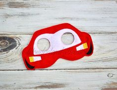 Cars mask by MyWonderlandBoutique on Etsy