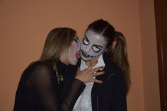 Face painting Bambola Vodoo