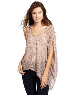 BCBGeneration Women's Asymmetric Top BCBGeneration. $44.61. Made in China. polyester. This top has a v-neck. This top hits at the waist. Machine Wash