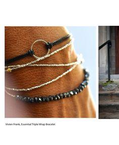 Vivian Frank wrap bracelet in Indie Love on Issuu