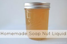 Homemade Soap Nut Liquid