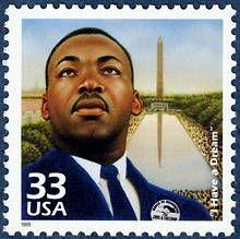 Martin Luther King Jr. 1999 Scott 3188a