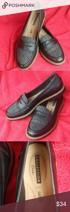 a6db625b50c9 CLARKS COLLECTION Women Moccasin Loafers