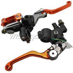 """7/8"""" 22mm Brake Hydraulic Master Cylinder Kit Reservoir Levers For Yamaha YZ 80 85 WR 250F 450F 250R/X TTR 600 125 SEROW 225 250 #Affiliate"""