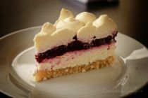 Cheesecake cu fructe de padure (fara zahar)