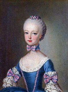 Portrait de l'archiduchesse Marie Antoinette, 1762 Martin van Meytens