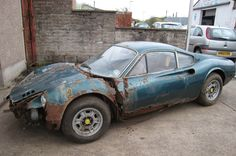 1973 Ferrari Dino Barn Find - TheGentlemanRacer.com