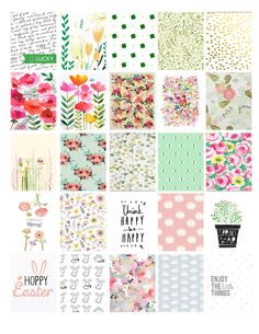 March-April Erin Condren planner stickers