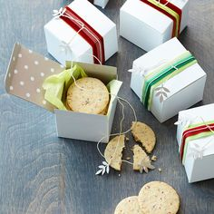 Luscious Homemade Food Gifts  We show you gorgeous ways to wrap decadent sweets and savory treats for the holidays. Every recipe here travels beautifully -- and is a joy to eat.  Cranberry and Pepper Shortbread Bites