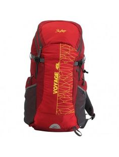 84497d0accc6 Skybags Voyage Rucksack 45L Red - VOYAGE RUCKSACK 45L RED Bags Online  Shopping