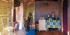 Shack Chic: Art and Innovation In South African Shack-Lands by Craig Fraser African House, Off The Wall, Take Me Home, African Art, Homeland, Screen Shot, South Africa, Chic, Photography