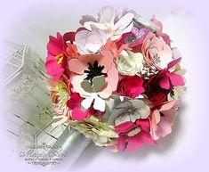 MagicArt / Život je krásny! SKLADOM Paper Flowers, Floral Wreath, Bouquet, Wreaths, Home Decor, Homemade Home Decor, Door Wreaths, Bouquets, Deco Mesh Wreaths