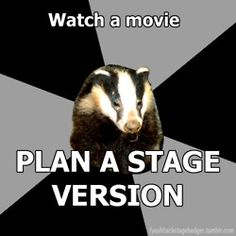 Backstage Badger