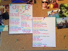 Summer bucket list for teens