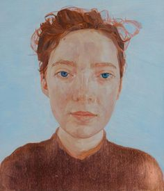 See all the finalists of the 2016 Archibald Prize: Self-portrait by Natasha Walsh oil on copper, 25 x 22.5cm © the artist Photo: AGNSW, Felicity Jenkins (Sitter: Natasha Walsh)