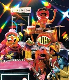 Dr. Teeth and the Electric Mayhem - Animal, Dr. Teeth, Floyd, Janice and Zoot