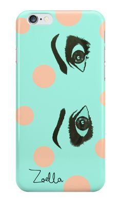 Zoella eyes phone case Eye Phone Case, Zoella Beauty, Zoe Sugg, Cute Eyes, Cool Iphone Cases, Nerd Love, New Iphone, Phone Accessories, Youtubers