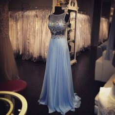 Beautiful Flowing Gown with a little bling. Simply Fabulous