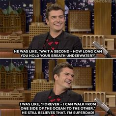 Orlando Bloom's son had a few questions after watching Pirates of the Caribbean...