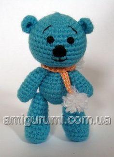 Teddy Bear ( Free Russian Pattern)