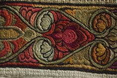 Norwegian Telemark Sauherad man's skirt, embroidered with wool and silk in different colors, before 1896 Man Skirt, Vintage Embroidery, Beige, Wool, Men's Clothing, Brother, Rabbit, Colors, Embroidery