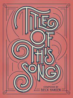 Dan Cassaro cria ótimos trabalhos de design e lettering ao se inspirar no rock'n'roll e nos anos 70. Confira seu estilo único de tipografia vintage!