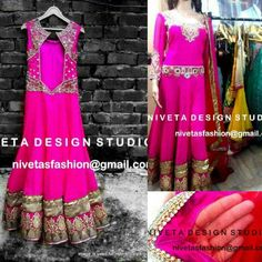 @nivetas   Query   Whatsapp:-  +917696747289   E-mail:- nivetasfashion@gmail.com  Hi we do customize party wear Punjabi salwar suit, Can be made in any color combination, Embroidery work or Fabric, bridal suit, Punjabi suit, Party wear Salwar suit, Customize Patiala salwar suit , salawr suit- salwar- suit reach us at Whatsapp:-  +917696747289