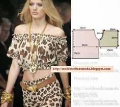 Tremendous Sewing Make Your Own Clothes Ideas. Prodigious Sewing Make Your Own Clothes Ideas. Blouse Patterns, Clothing Patterns, Sewing Patterns, Fashion Sewing, Diy Fashion, Ideias Fashion, Diy Clothing, Sewing Clothes, Costura Fashion