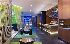 W Mexico City Living Room bar . Fresh Living Room, Living Room Bar, Beautiful Living Rooms, City Living, Rooftop Lounge, Nyc Hotels, México City, Hospitality Design, Hotel Spa
