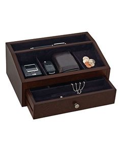 Reed & Barton Jewelry Box, Jackson Men's Accessory Chest