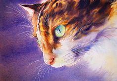Pas à pas chat (accessible) - Aquarelle Marichalar Watercolor