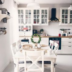 Kitchen Room Design, Home Decor Kitchen, Kitchen Interior, Home Interior Design, Home Kitchens, Küchen Design, House Design, Dining Room Inspiration, Cuisines Design