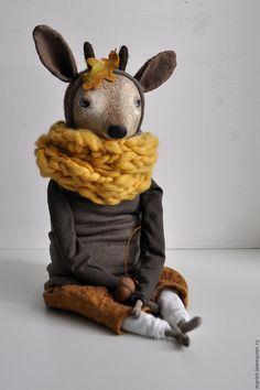 Art doll Deer